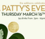 The Addisons are celebrating St Patty's Eve on Thursday March 16th - and you should be too! $4 drinks from 7-10pm.